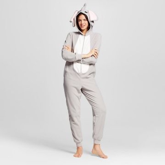 Xhilaration Other - Target xhilaration elephant onesie pajama suit.
